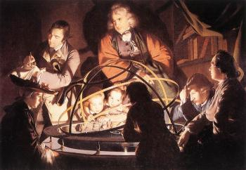 Joseph Wright Of Derby : A Philosopher Lecturing with a Mechanical Planetary